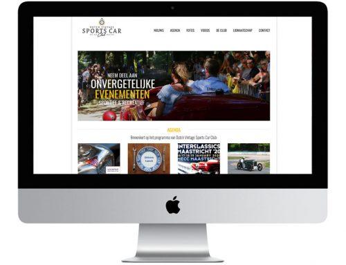 Nieuwe DVSCC website