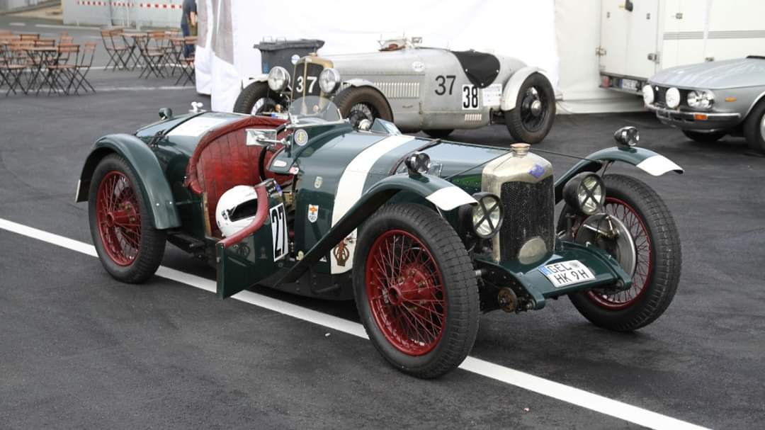 1928 Riley Brooklands, 1087 cc