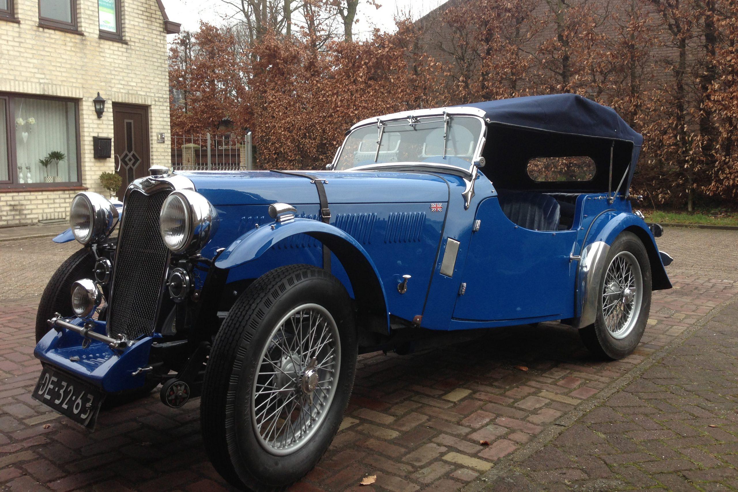 Singer LeMans, 998 cc, 1936