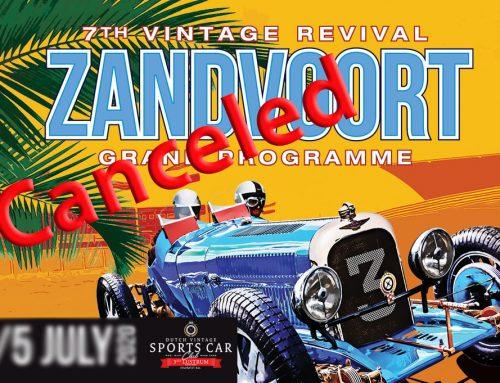 Deelnemers Vintage Revival Zandvoort 2020